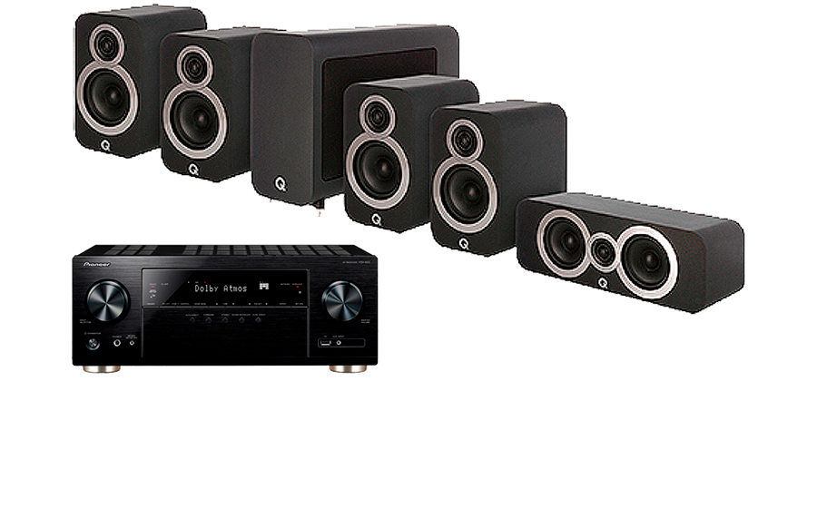 Pioneer VSX-934 + 3010i Cinema Pack - 30333