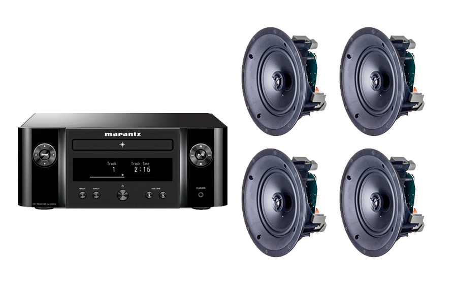 Marantz Melody X MCR612 + PACK 4 ML-60i - 30623
