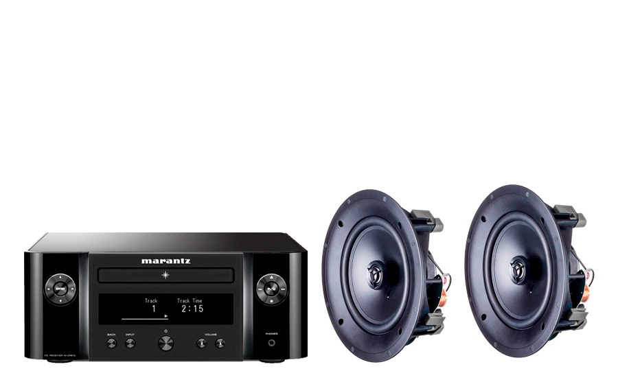 Marantz Melody X MCR612 + PACK 2 ML-80i - 30624