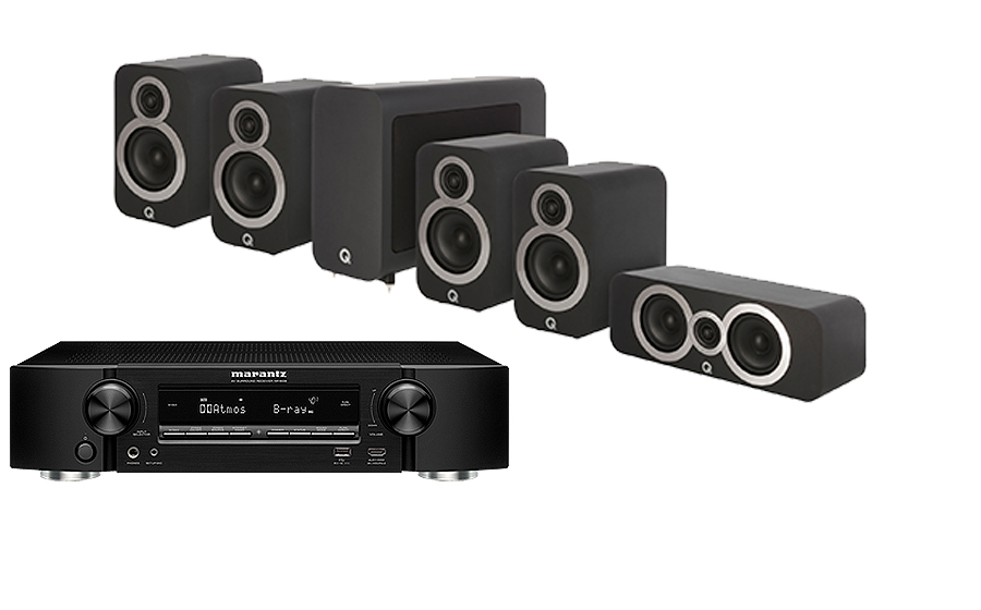 Marantz NR1710 + 3010i Cinema Pack - 30753