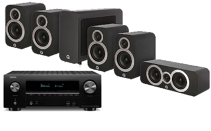Denon AVR-X2600H + 3010i Cinema Pack - 30917