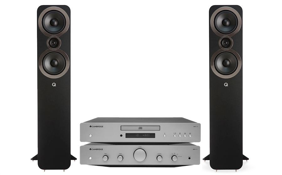 Cambridge Audio AXA25 + AXC25 + Q3050i - 32047
