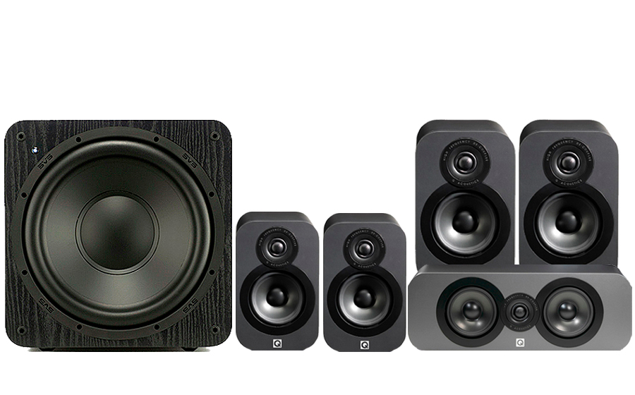 Q-Acoustics 3020 CINEMA PACK + SB1000 - 32159