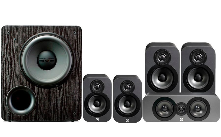 Q-Acoustics 3020 CINEMA PACK + PB2000 - 32160