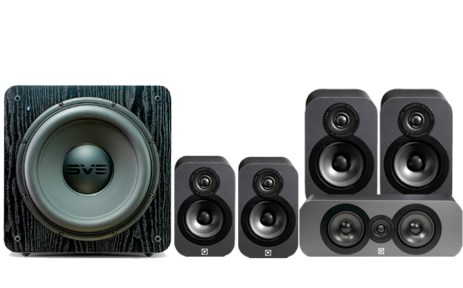 Q-Acoustics 3020 CINEMA PACK + SB2000 - 32161