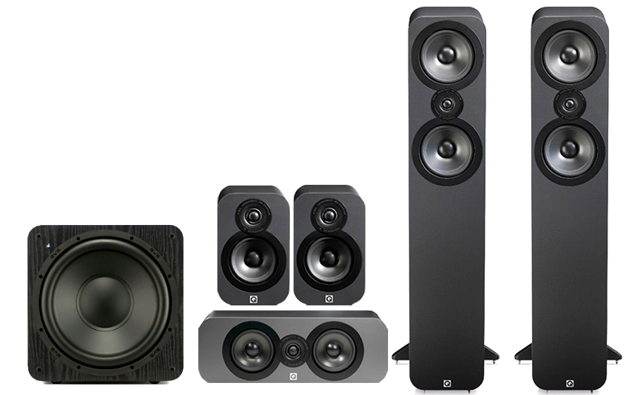 Q-Acoustics 3050 CINEMA PACK + SB 1000 - 32168