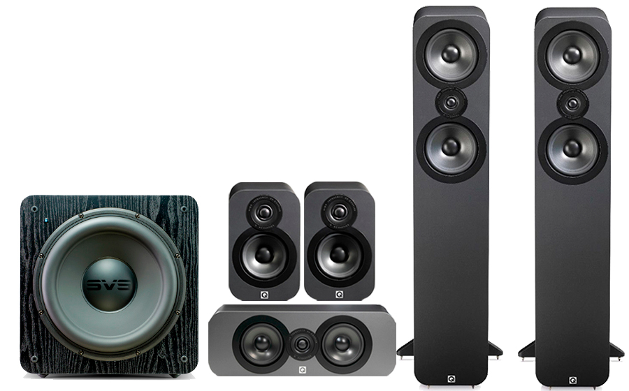 Q-Acoustics 3050 CINEMA PACK + SB 2000 - 32170