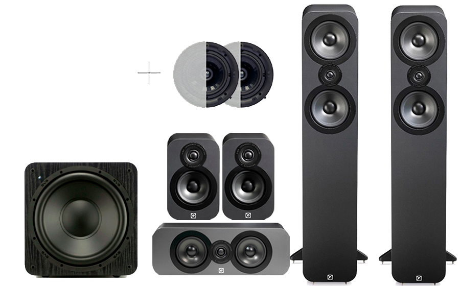 Q-Acoustics 3050 CINEMA PACK + SB 1000 ATMOS - 32172