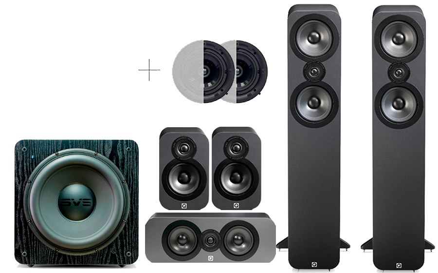 Q-Acoustics 3050 CINEMA PACK + SB 2000 ATMOS - 32174