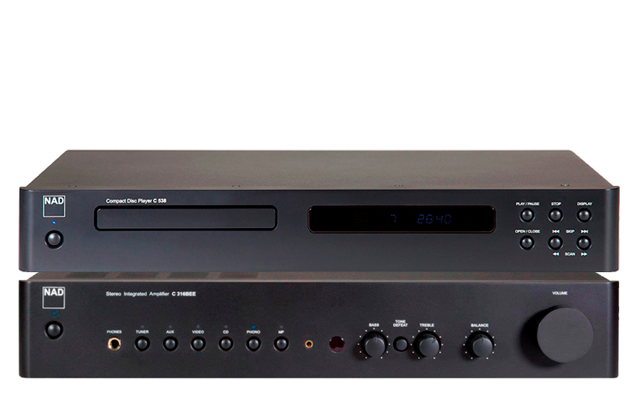 Nad C-316 BEE V2 + C538 CD PLAYER - 32298