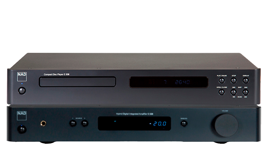 Nad C 328 Hybrid Digital DAC + C538 CD PLAYER - 32299