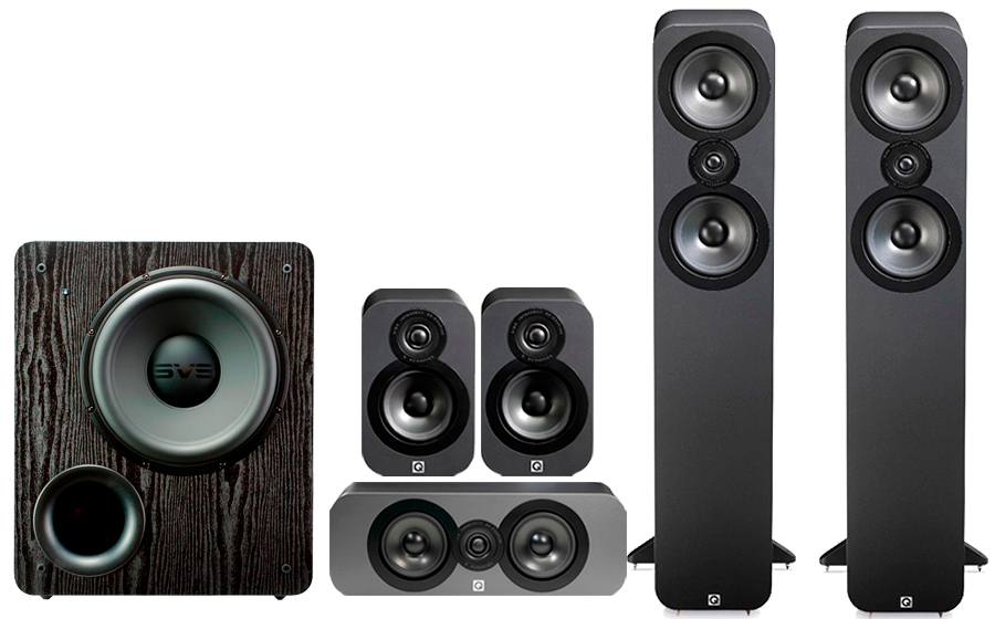 Q-Acoustics 3050 CINEMA PACK+ PB 2000 - 32487