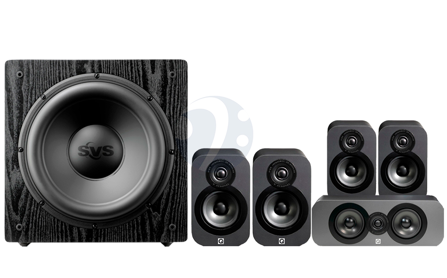 Q-Acoustics QA3020 CINEMA PACK + SB12-NSD - 32494