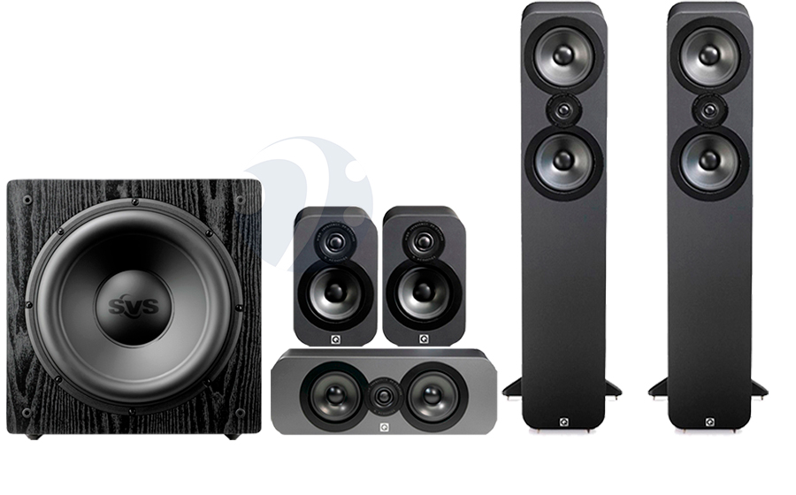 Q-Acoustics QA3050 CINEMA PACK + SB12-NSD - 32495