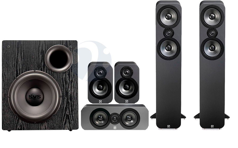 Q-Acoustics QA3050 CINEMA PACK + PB12 NSD - 32499