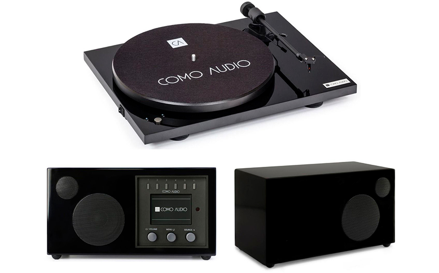 Como Audio Bluetooth Turntable + Solo + Ambient - 32813