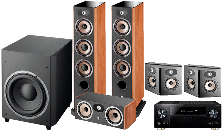 Pioneer VSX-LX302 + FOCAL ARIA CINEMA PACK 2 - 41296