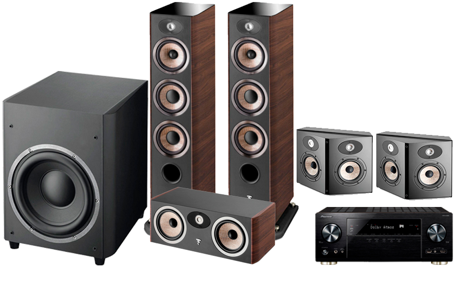 Pioneer VSX-LX302 + FOCAL ARIA CINEMA PACK 2 - 41297