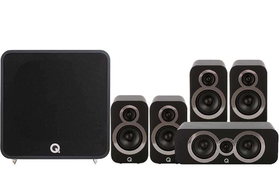 Q-Acoustics 3010i Cinema Pack + Q B12 - 41324