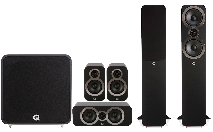 Q-Acoustics 3050i Cinema Pack + Q B12 - 41326