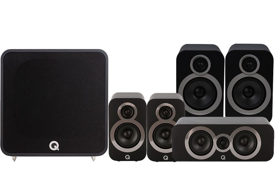 Q-Acoustics 3030i Cinema Pack + QB12 - 41360
