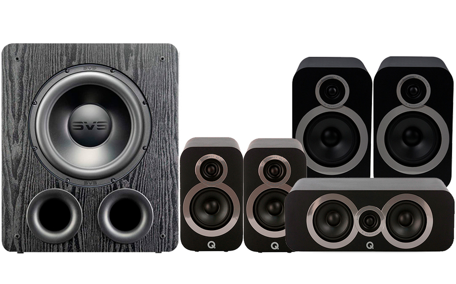 Q-Acoustics 3030i Cinema Pack + PB2000 PRO - 41364