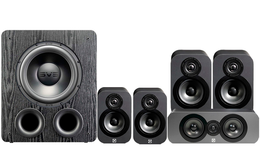 Q-Acoustics 3020 CINEMA PACK + PB2000PRO - 41570