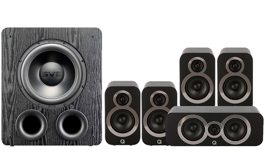 Q-Acoustics 3010i Cinema Pack + PB 2000PRO - 41571