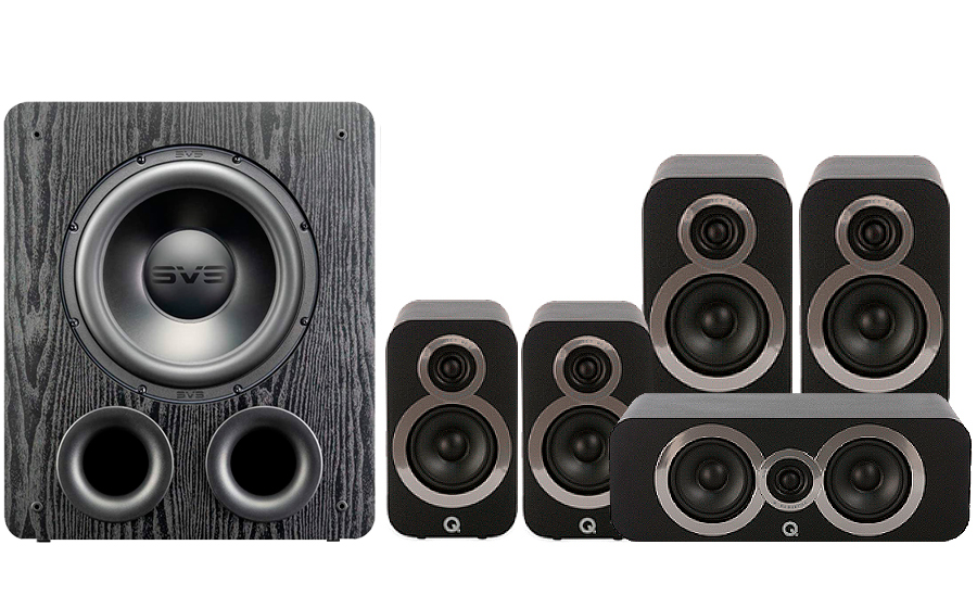 Q-Acoustics 3020i Cinema Pack + PB 2000PRO - 41572