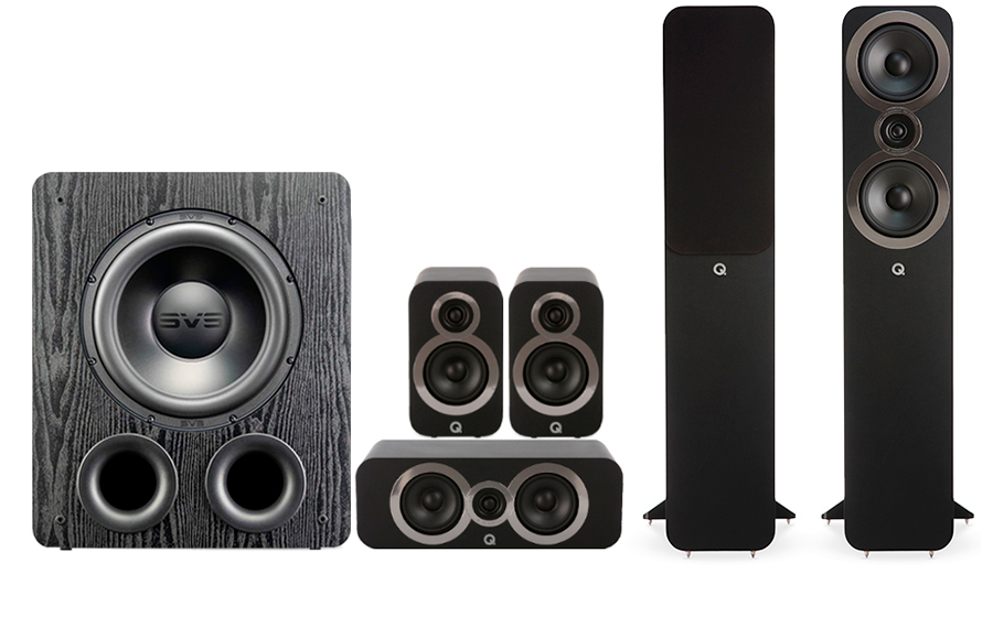 Q-Acoustics 3050i Cinema Pack + PB 2000PRO - 41578