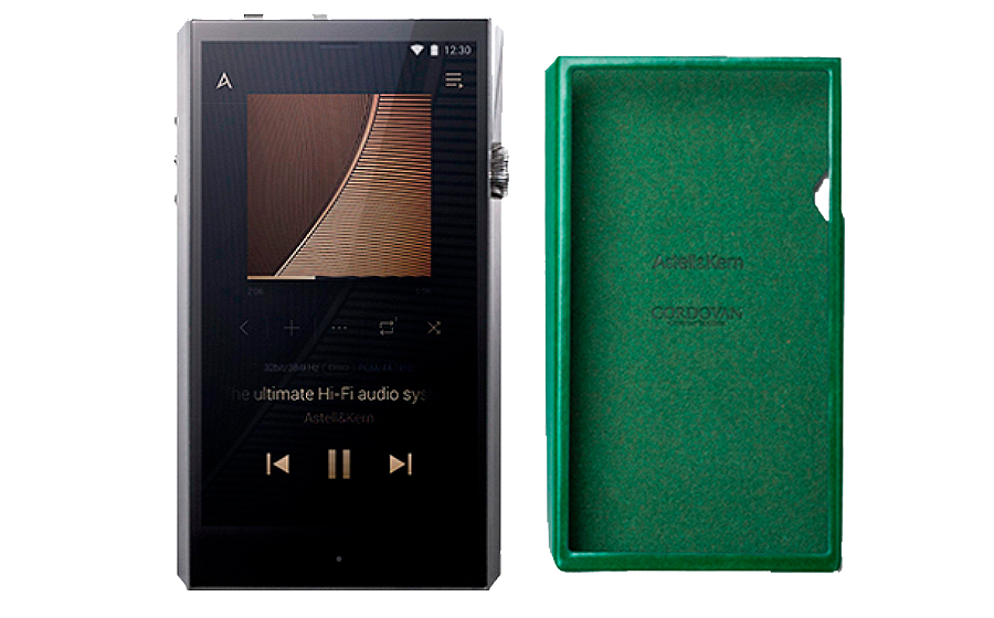 Astell&kern SP 1000 Ultima + SP1000 CORDOVAN Case - 41675