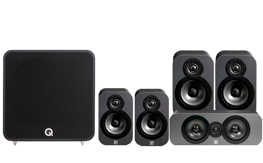 Q-Acoustics 3020 CINEMA PACK + Q B12 - 42021