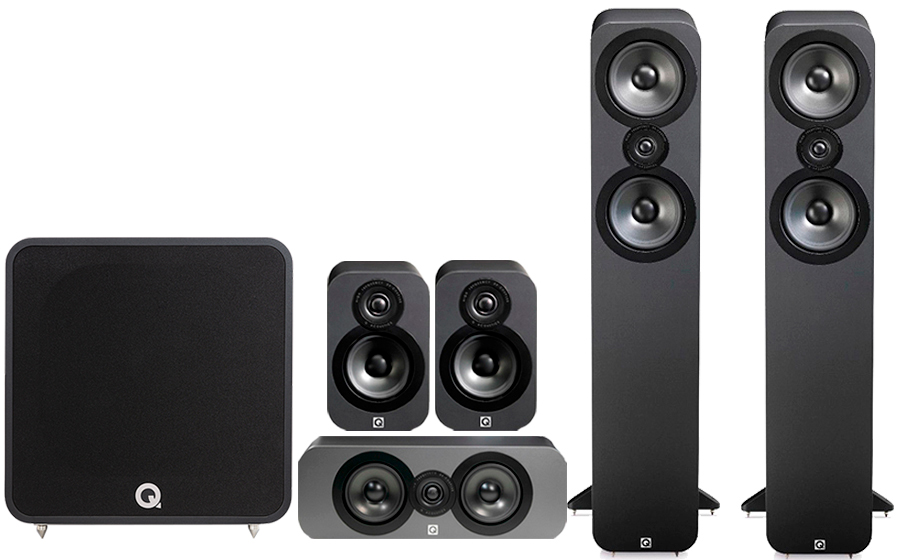Q-Acoustics 3050 CINEMA PACK + QB12 - 42023