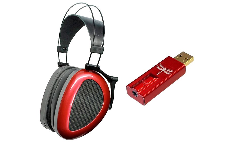 Dan Clark Audio AEON Flow 2 Closed + DragonFly Red - 42321