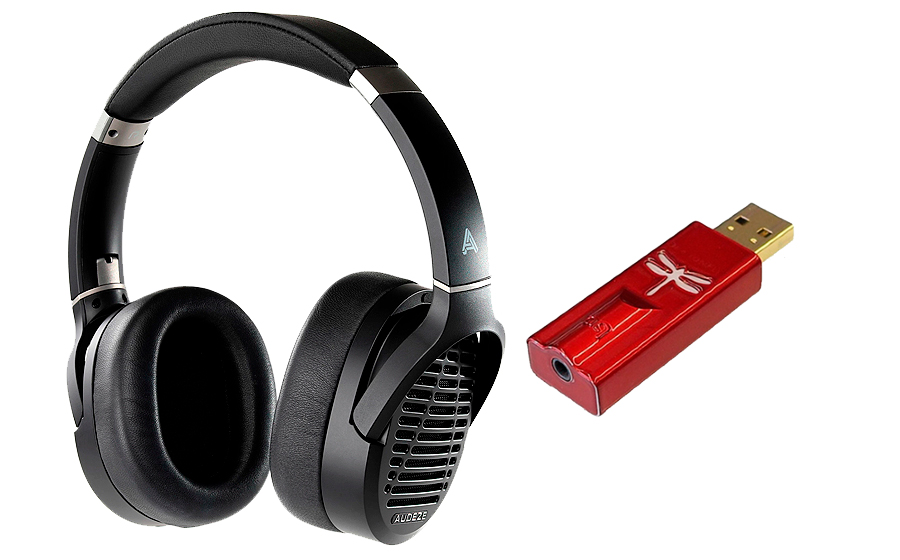 Audeze LCD-1 + DragonFly Red - 42325