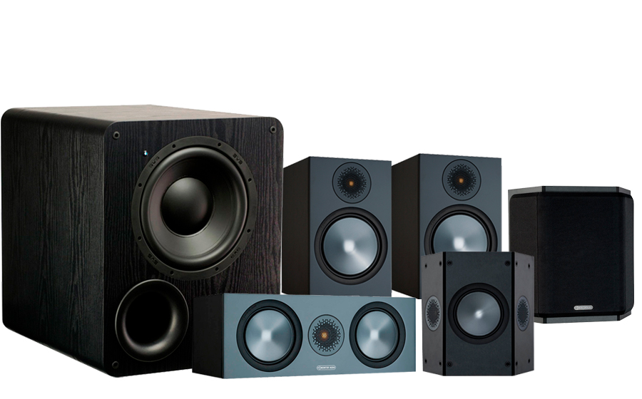 Monitor Audio Bronze 100 AV + PB-1000 - 42534
