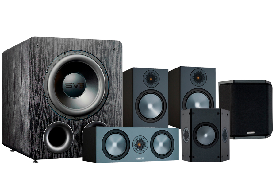 Monitor Audio Bronze 100 AV + PB-2000 Pro - 42536