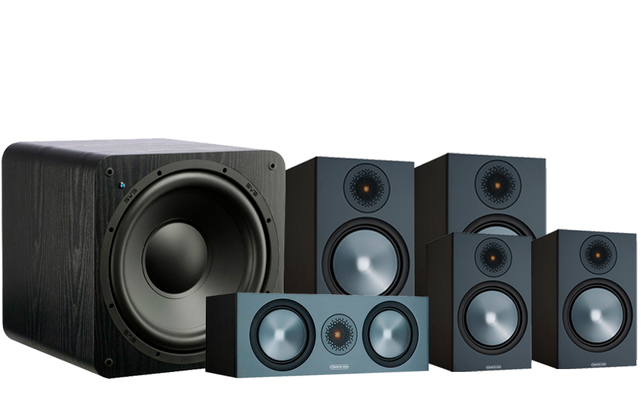 Monitor Audio Bronze 100 AV 2 + SB-1000 - 42537