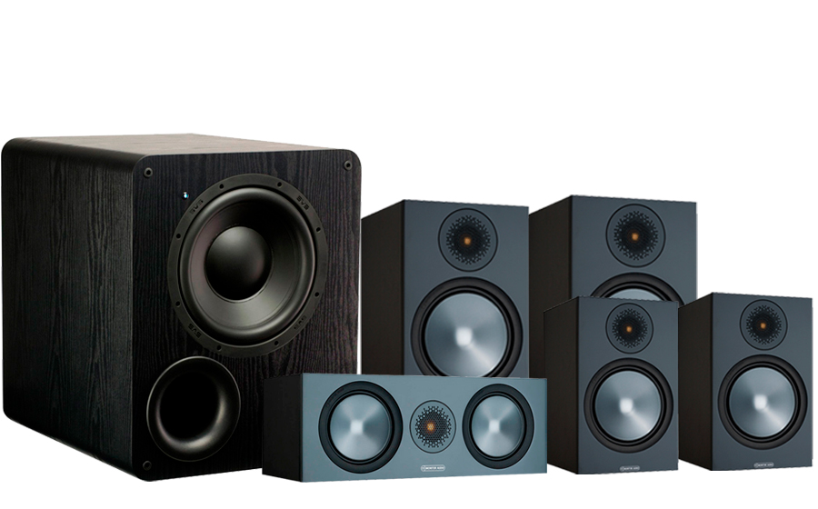 Monitor Audio Bronze 100 AV 2 + PB-1000 - 42538