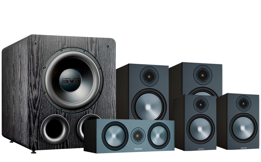 Monitor Audio Bronze 100 AV 2 + PB-2000 Pro - 42540