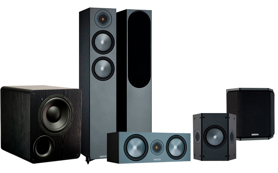 Monitor Audio Bronze 200 AV + PB-1000 - 42542