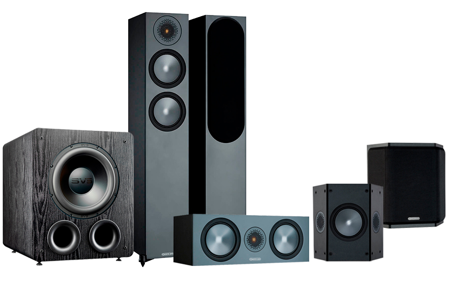 Monitor Audio Bronze 200 AV + PB-2000 Pro - 42544