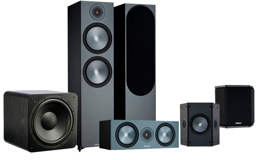 Monitor Audio Bronze 500 AV + SB-1000 - 42550