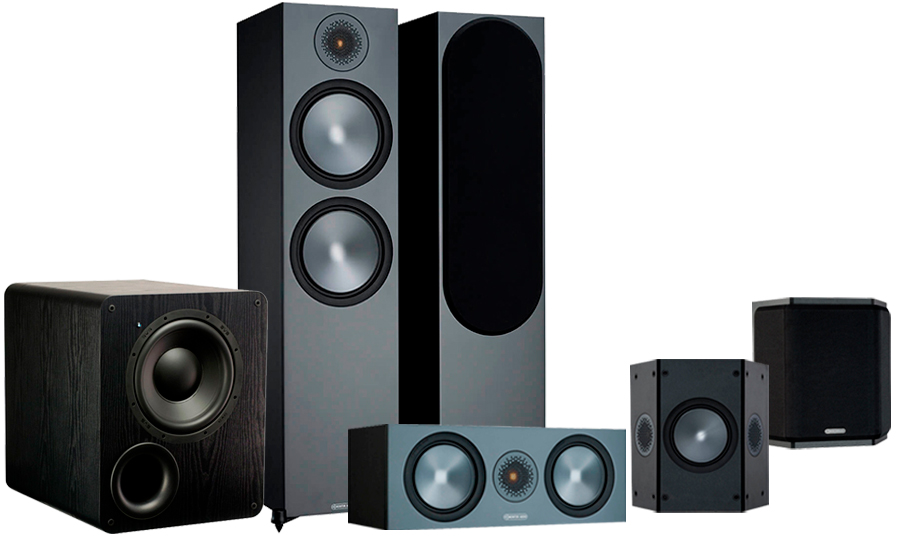 Monitor Audio Bronze 500 AV + PB-1000 - 42551