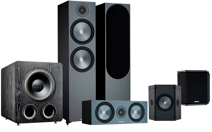 Monitor Audio Bronze 500 AV + PB-2000 Pro - 42553
