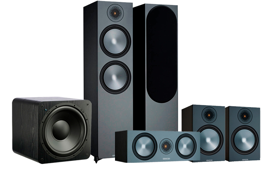 Monitor Audio Bronze 500 AV 2 + SB-1000 - 42554