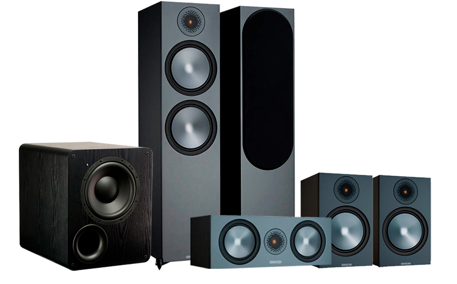 Monitor Audio Bronze 500 AV 2 + PB-1000 - 42555