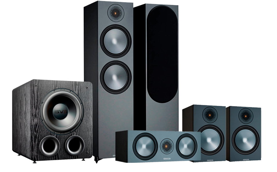 Monitor Audio Bronze 500 AV 2 + PB-2000 Pro - 42557