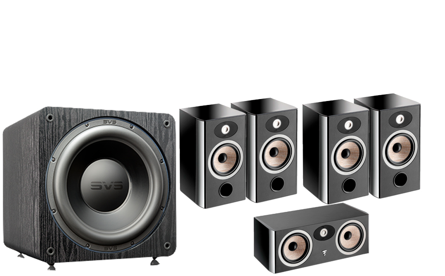 FOCAL Aria 906 Cinema Pack + SB3000 - 42888