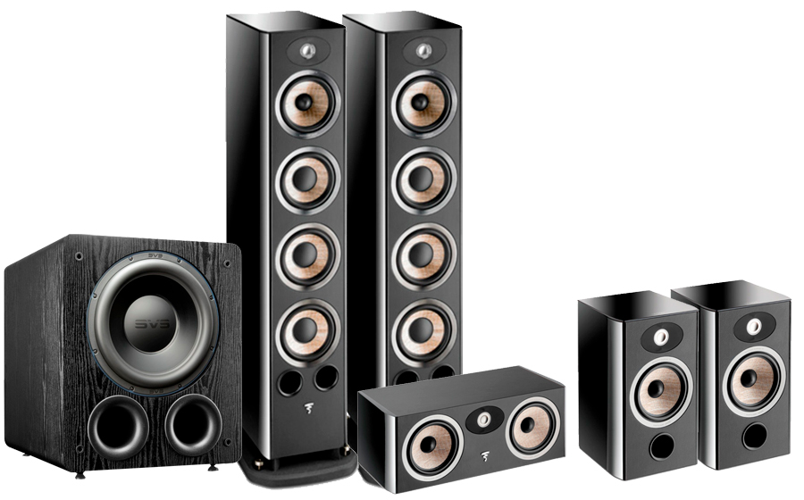 FOCAL Aria 936 Cinema Pack + PB3000 - 42890